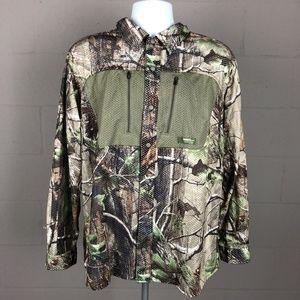 Gander Mountain Men's Hunting Button Up Shirt Size
